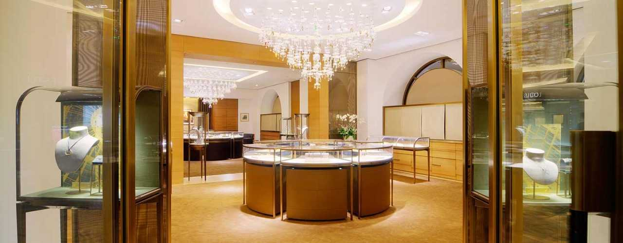 luxury jewelry store design and manufacturer-ujoydisplay
