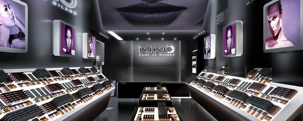 makeup store design cosmetic showcase counter