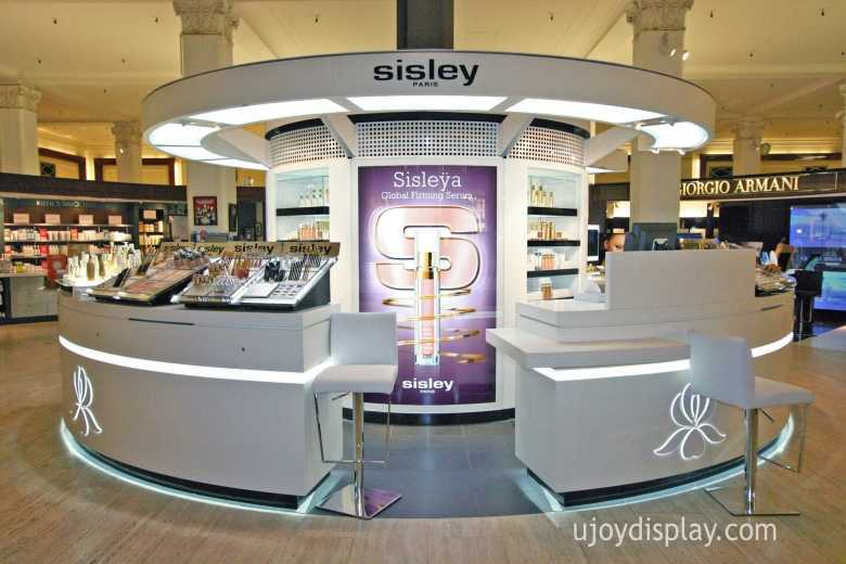 Cosmetic mall kiosk business--ujoydisplay
