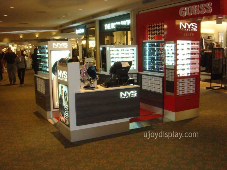 eyewear mall kiosk business--ujoydisplay