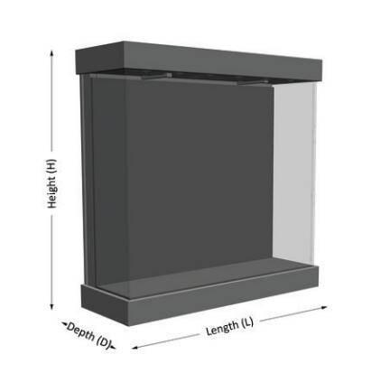 freestanding display cases UDF-03A ujoydisplay