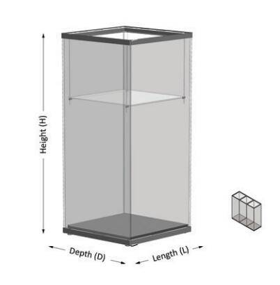 Modular display cases UDM-01A ujoydisplay