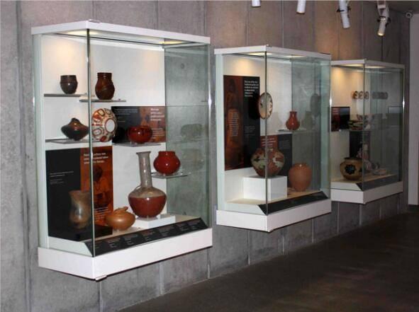 museum Wall display cases UDW-03 ujoydisplay