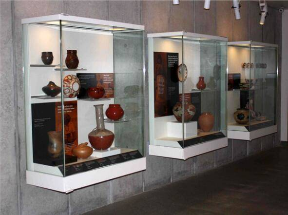 museum Wall display cases UDW-03 ujoydisplay